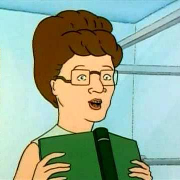 Peggy Hill from King of the Hill