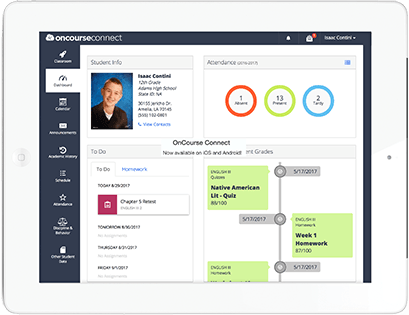 School Management Software for K12 | OnCourse Systems