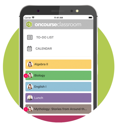 oncourse-classroom-mobile-app